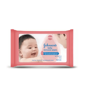 Johnson's Baby Skincare Wipes 10 Wipes
