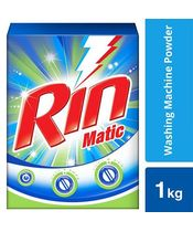 Rin Matic Detergent Powder 1Kg