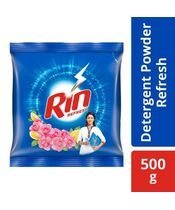 Rin Refresh Lemon & Rose Detergent Powder 500g