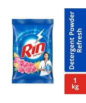 Rin Refresh Lemon & Rose Detergent Powder 1Kg