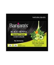 Banjaras Black Henna Herbal Creme Black Hair Colour