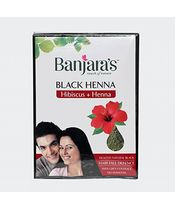 Banjaras Black Henna Hibiscus Black Hair Colour