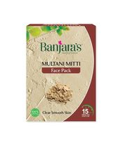 Banjaras Multani Mitti Face Pack Powder 100g