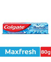 Colgate Maxfresh Anticavity Blue Gel Peppermint  Ice Toothpaste  80g