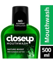 Closeup Nature Boost Mouthwash 500ml