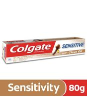 Colgate Sensitive Anticavity Toothpaste with  Clove Oil 80g