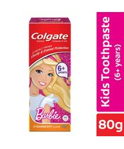 Colgate Kids Anticavity Kids Barbie Toothpaste Strawberry Flavour 80g